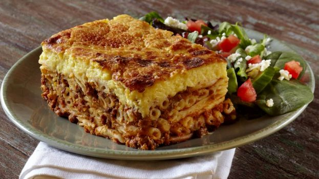 Pastitsio, a delicious baked pasta