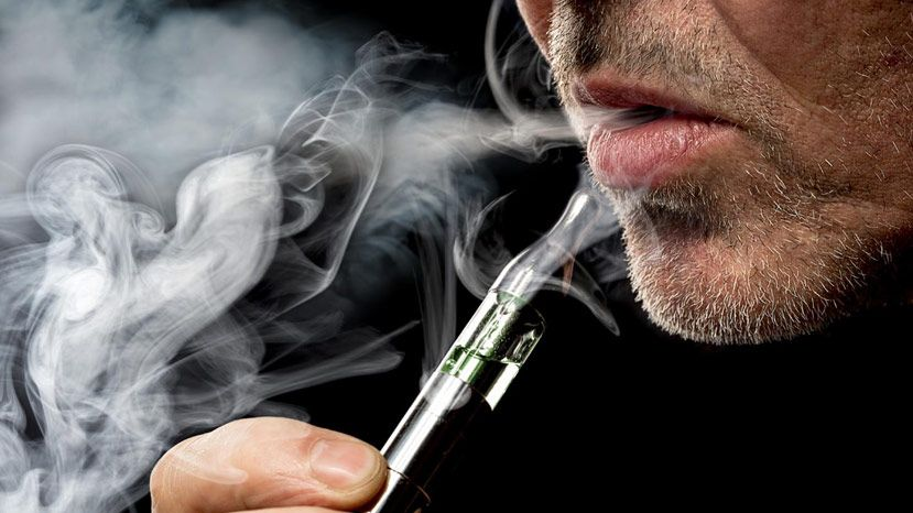 Toxic compounds in the vapor of e-cigarettes