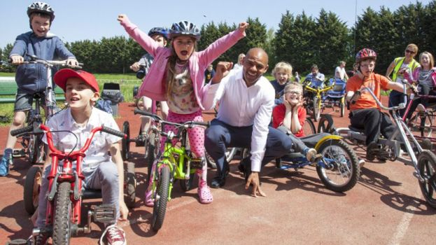 Mayor opens new family cycle centre