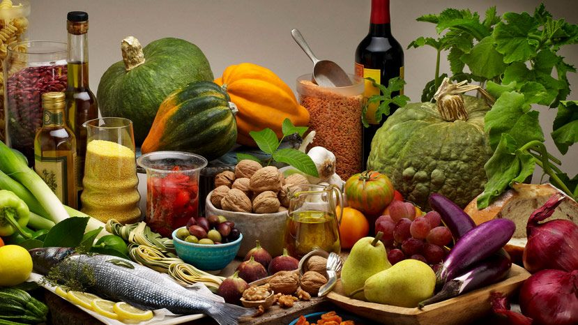 Other benefits of the Mediterranean diet include a reduction in the number of strokes.